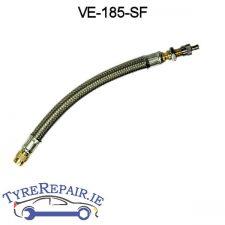 Flexible valve extension 185mm Long